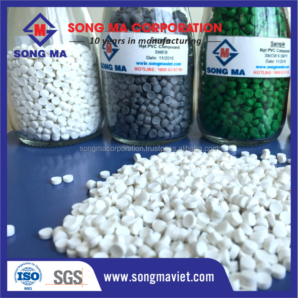 Colorful Soft PVC for injection / Flexible pvc compounds / Virgin PVC Granules