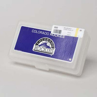 PENCIL BOX PLASTIC COLORADO ROCKIES #83553