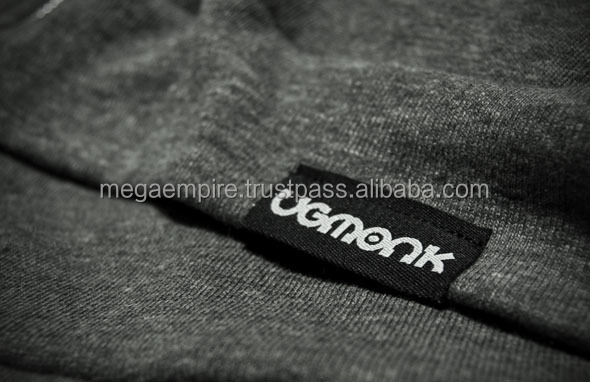 Fashion Woven Label/ cheap clothing Loop labels/ Custom Woven Labels