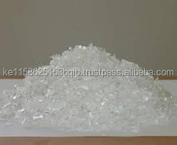 Clear Pet Flakes/Plastic Scraps/Hot Washed Pet Flakes