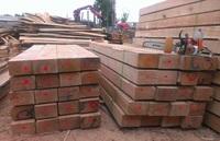 Oak sleepers, beams, timber, lumber, planks