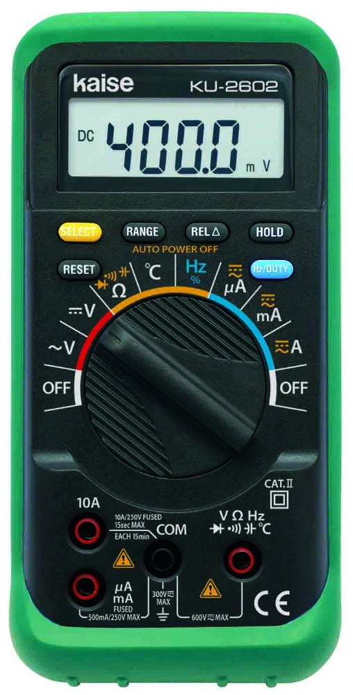 KU-2602 Handy Type Digital Multimeter