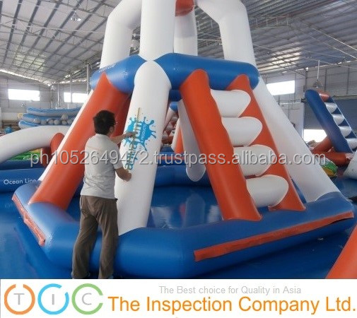Inflatable products for pre-shipment inspection service in China