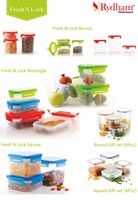 Plastic & glass food storage container fresh keeping box microwave lunch box