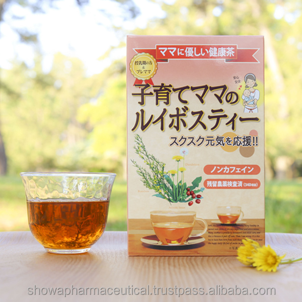 High quality rooibos tea as anti aging products made with 100% natural ingredients