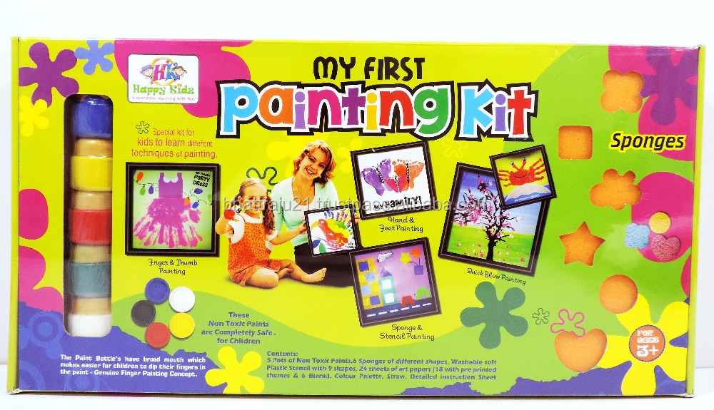 Toys For Painting : Educational toys diy painting kit for kids craft kits
