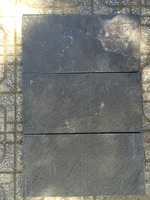 Vietnam Dark Grey Slate split by hand