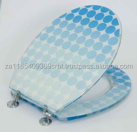 decorative clear polyresin toilet seat,color toilet sea