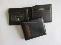 Leather Wallet Case with Key Holder Mens Purse