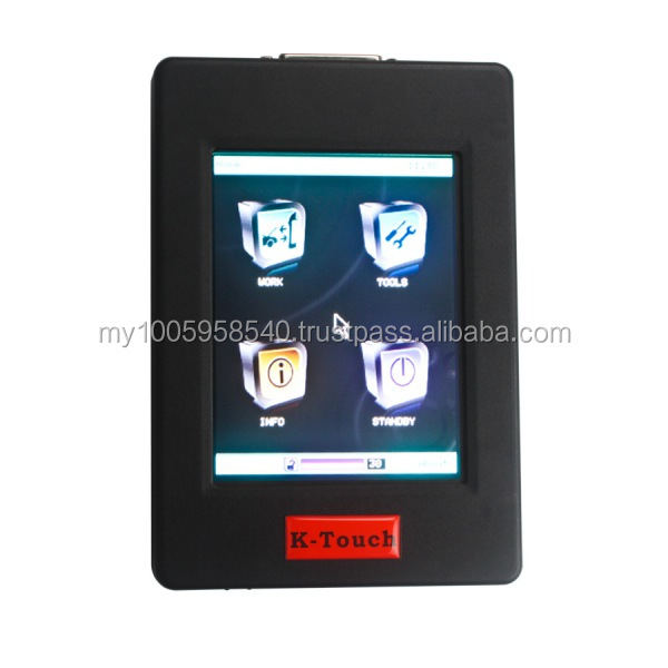 K-touch New Genius & Flash Point OBDII/BOOT Protocols Hand-Held ECU Programmer Touch MAP DHL Free Shipping