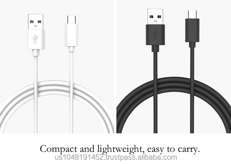 High Speed USB 2.0 TYPE C hub cable TYPE-c 2.0 USB charging cable