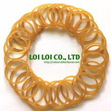 Colored Natural Rubber Band / Latex Band Circle NEW Developed Shaped Loop Rubber Bands