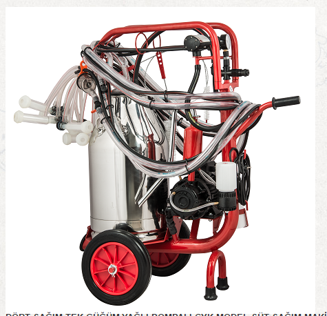 Stainless From Turkey Portable Goat Milking Machine For Sale