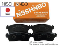 High performance stable brake pads for car spare parts wholesale