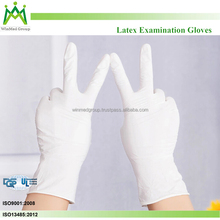 Medical disposable gloves /latex exam gloves/Gloves medical