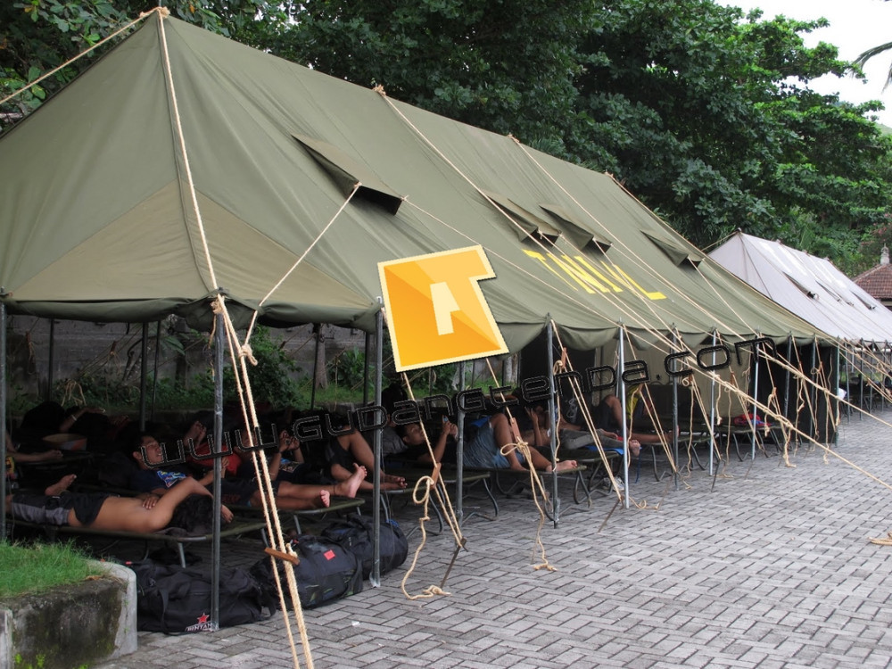 Military Canvas Tent