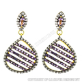 amethyst gemstone earrings,cz set fashion jewelry wholesale,faceted cut gemstone earrings jewelry