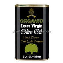 Cold Pressed Extra Virgin Olive Oil. A'Quality Extra Virgin Olive Oil with FDA Certification.5L metallic Tin