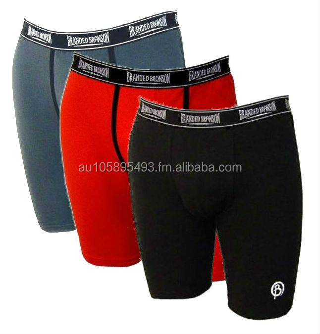 Mens Long Leg Boxer 'Branded Branson'