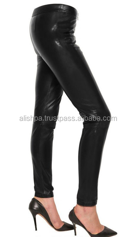 Pakistan Newest Design Fashion Man Leather Pants