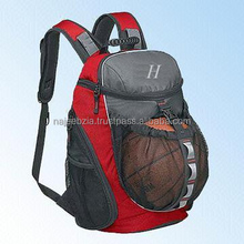 Custom Basket ball backpacks with printing and embroidery