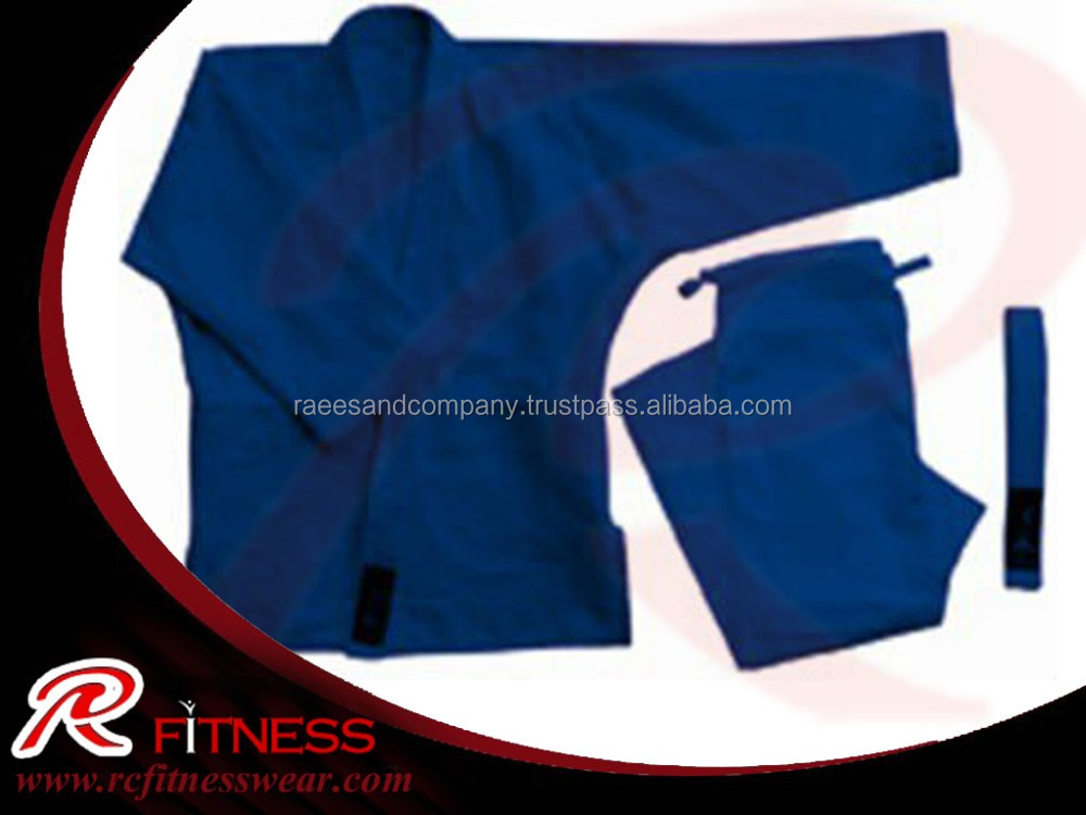 Martial arts and judo uniforms 100%cotton blue judo gi fabric sale,top ten quality karate uniform / Martial Arts Karate Clothing