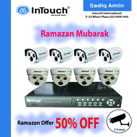 Ramadan Offer, cctv, ip, ahd camera kit, 50% off special offer in pakistna and out