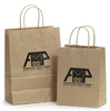 Wholesale shopping Bag Party Paper Present Wedding Favors Package Handle Kraft Paper Bags