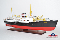 MS Nordstjernen Tromso L100cm ,Vietnam factory custom handmade wooden ship model