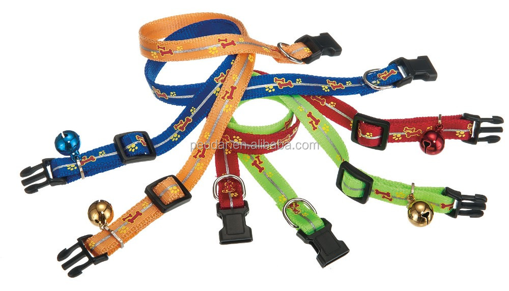 Premium Satin Nylon Dog Collar Pet Collar