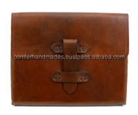 buffalo leather custom made tablet covers also available with custom embossing