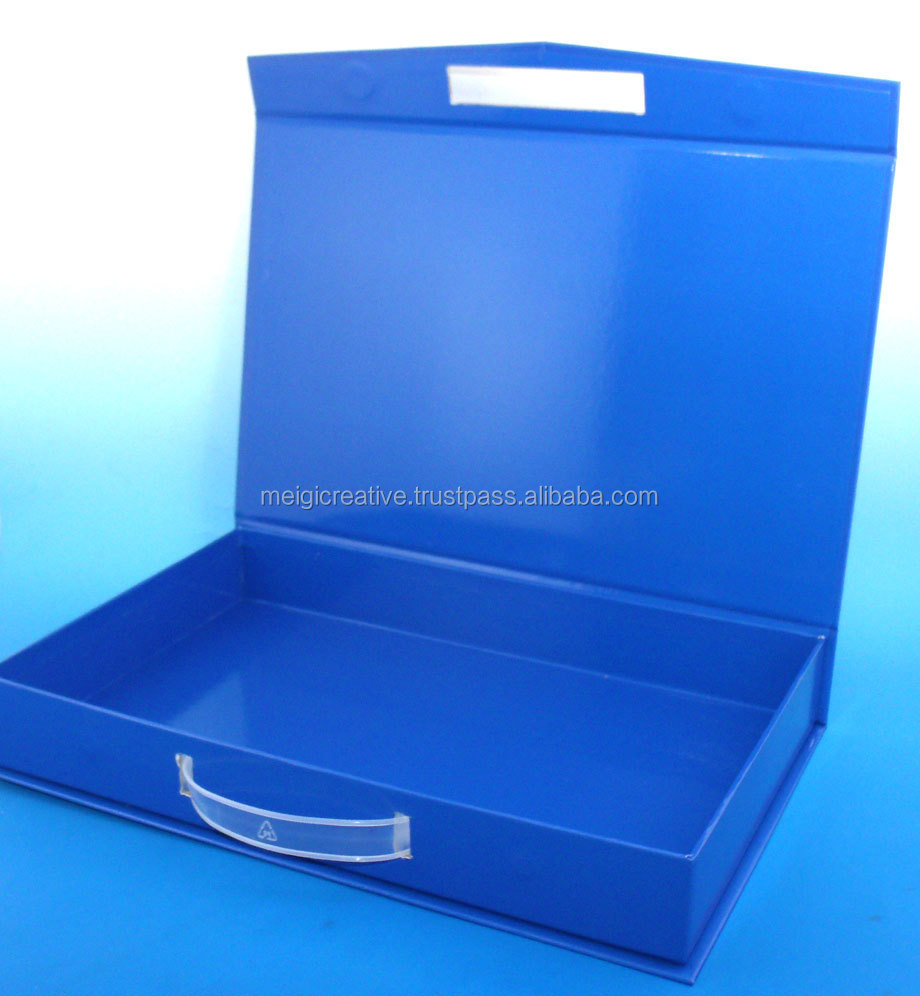 Foldable Rigid set-up Box, Collapsible Chipboard box, Gift Box