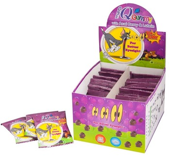 1Q Gummy With Acai Berry & Lutien 24 Sac/Box