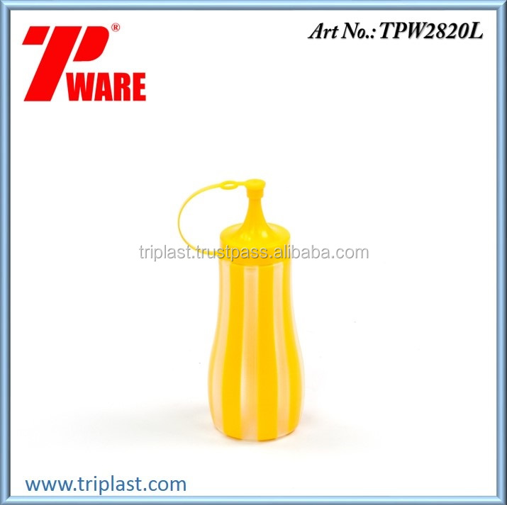350ml Double Line Color Special Squeeze Bottle PP material