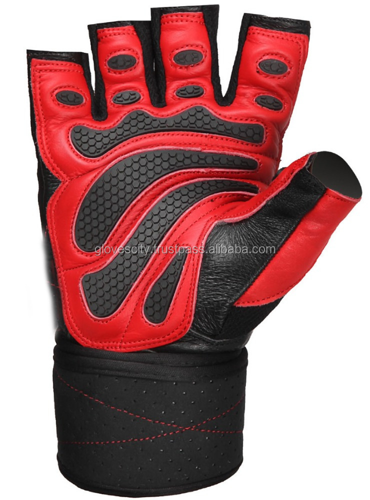 FULL PALM PROTECTION Bodybuilding Custom Leather Gloves / Workout GYM Weight Lifting Gloves/Workout & Weight Lifting Gloves