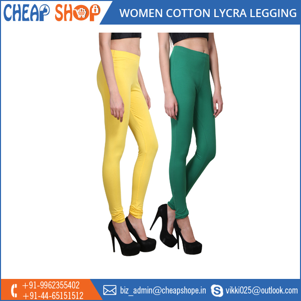 Manufacturer of Top Quality Lycra Leggings at Market Leading Price