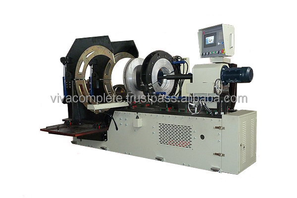 Plastic pipes saddle fusion welding machine
