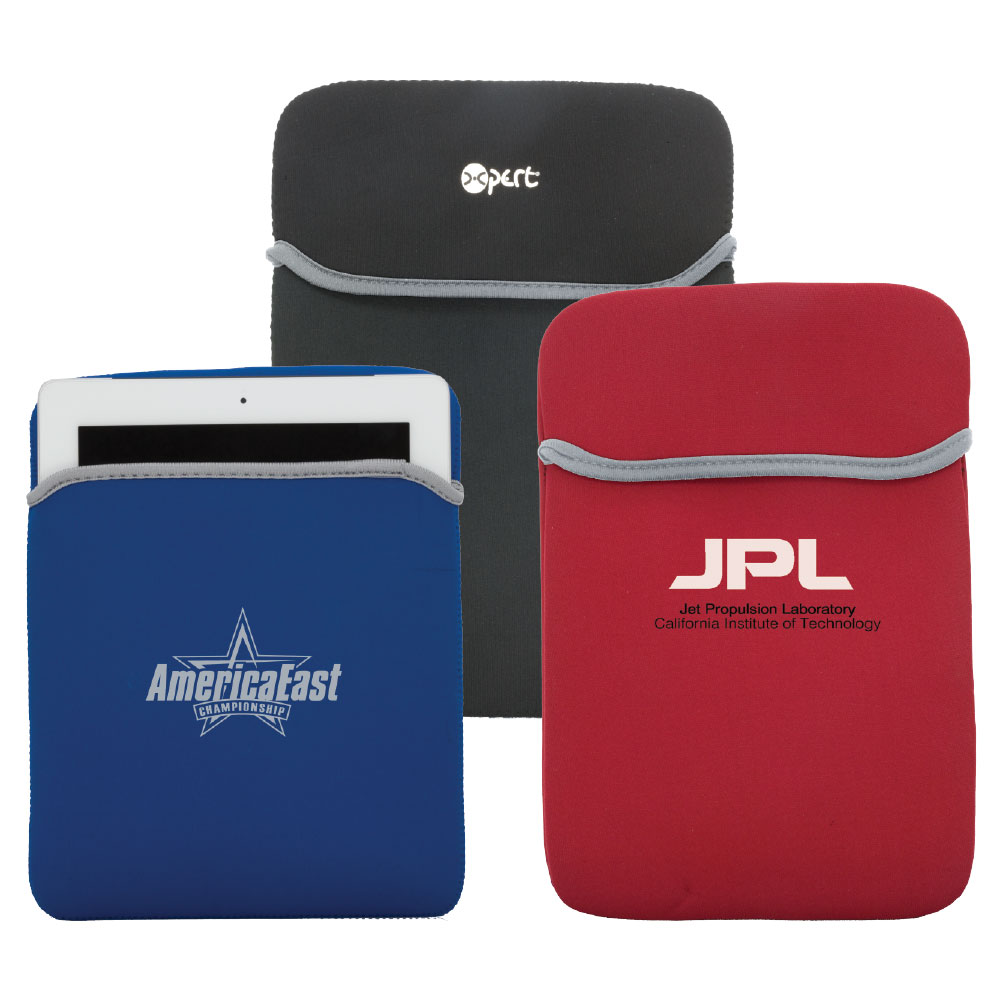 Soft Neoprene iPad2 Sleeve - comes with your logo