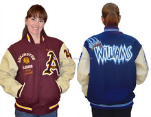 Wool Varsity Jacket/college jacket/basketball jacket from PACE SPORTS!