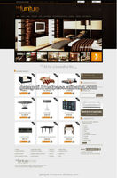 Professional and Creative Zen Cart Website Design and Web Development for Furniture with SEO