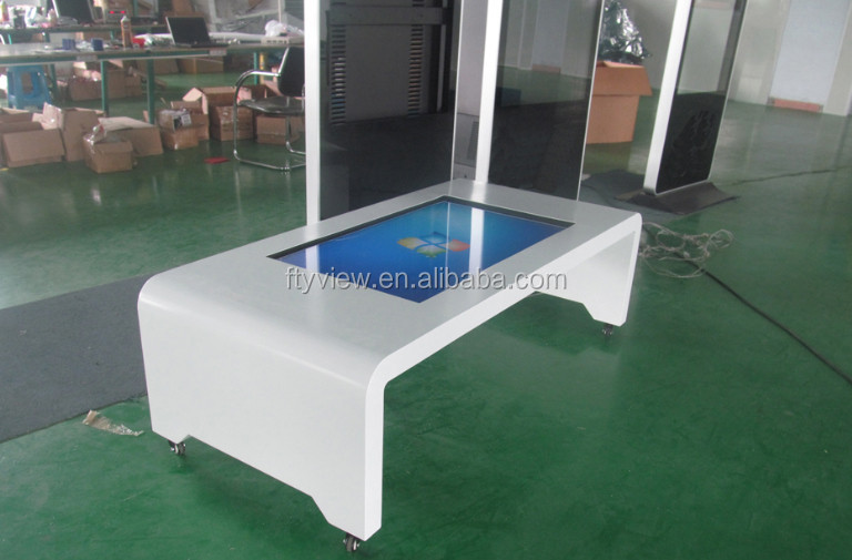 47 Inch Interactive Touch Screen Coffee Table for coffee shop