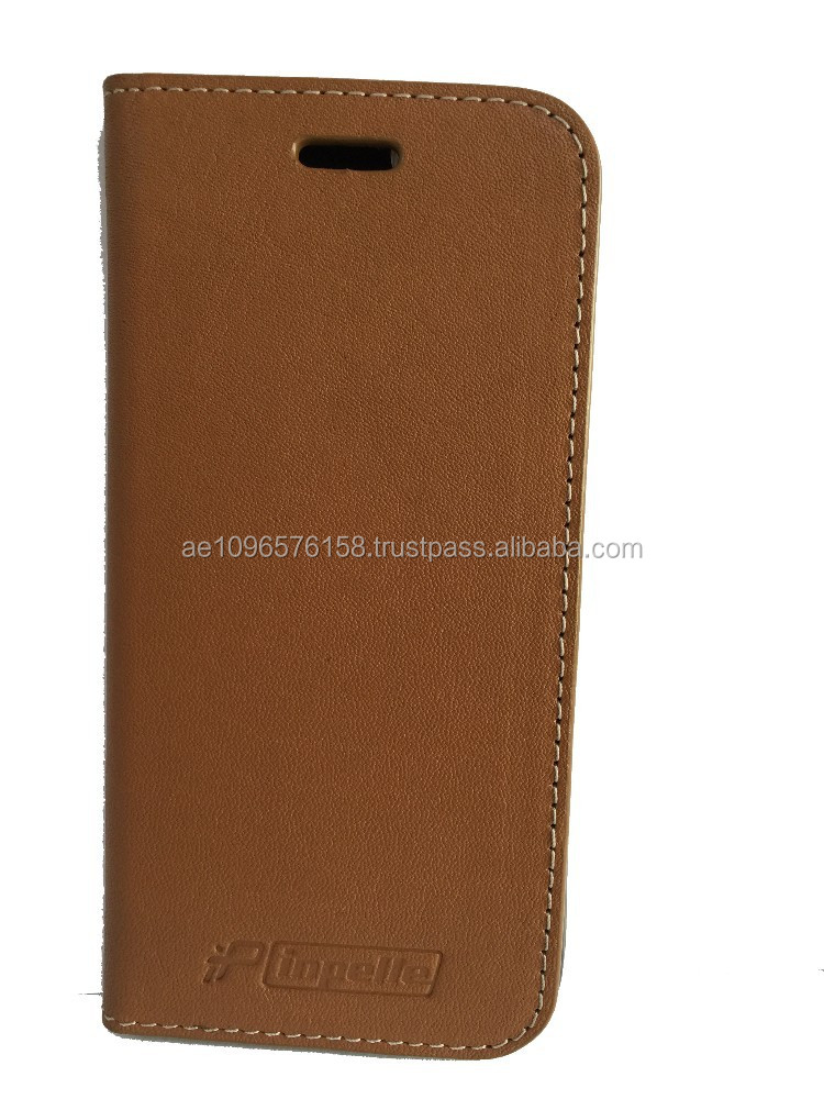 inpelle- Genuine Leather Mobile Flip Case