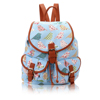 Cheap Price Birds and Flowers Print Retro Style Rucksack Backpack. School Bags
