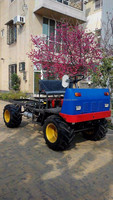 4WD Oil Palm Harvesting Tractor