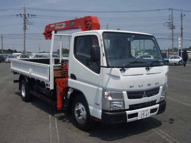 2015 Mitsubishi Canter 4 Stages Crane Truck YK22978/TKG-FBA50/4P10 3000cc