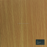 Laminated plywood (Single, double sided), Laminate no. EF1 Cinnamon Beech