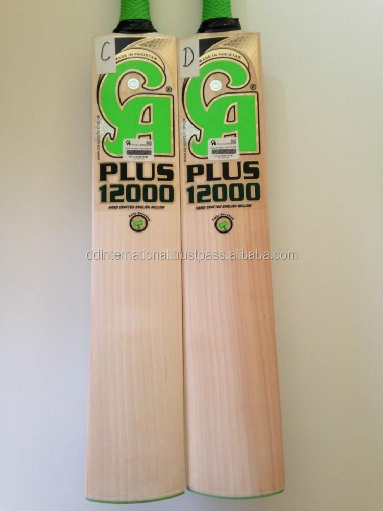 CA 12000 english willow bats WITH 3 GRIPS 3 PRACTICE BALL
