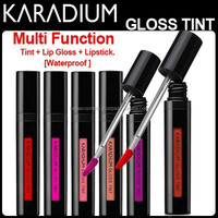 [KARADIUM] Gloss Tint 6 Color/ Tint+Lip gloss+ Lip stick all in ONE! Koera cosmetic