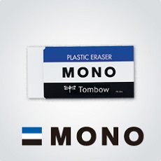 Best-selling plastic pencil eraser , TOMBOW MONO standard Japan quality
