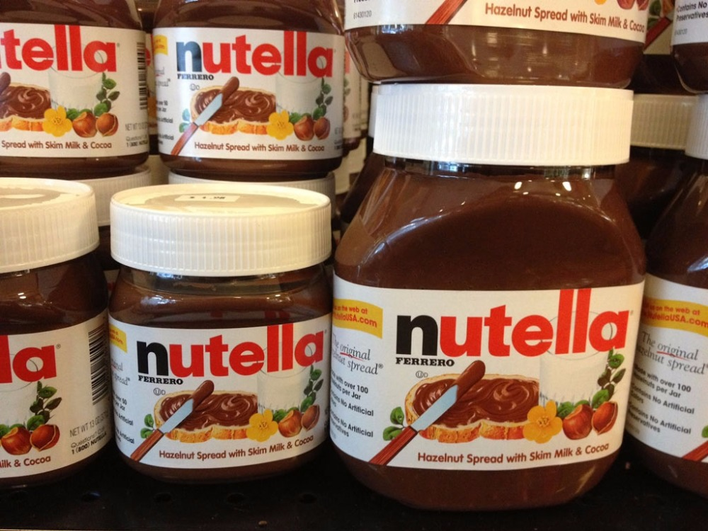 CHOCOLATE NUTELLA 52g 350g 400g 600g 750g 800g
